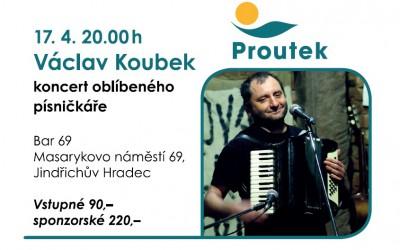 Václav Koubek 17.4. čtvrtek v Baru 69 od 20:00