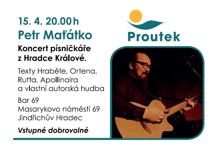 Petr Maťátko – koncert v baru 69