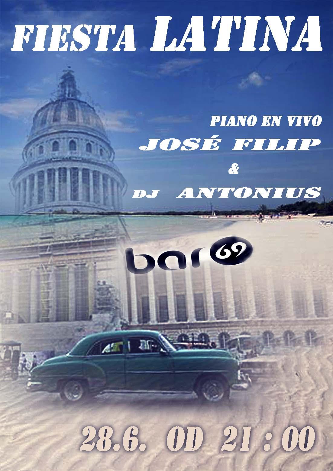 Fiesta Latina - Piano en Vivo and Dj Antonius