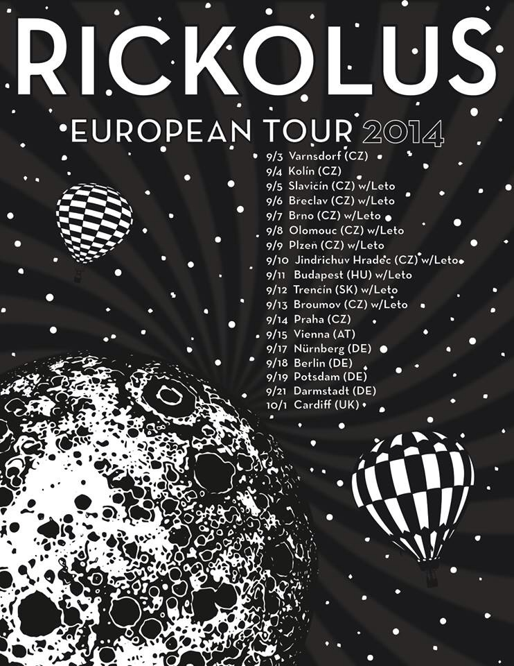 Koncert Rickolous (Florida, USA) a Leto (Olomouc)