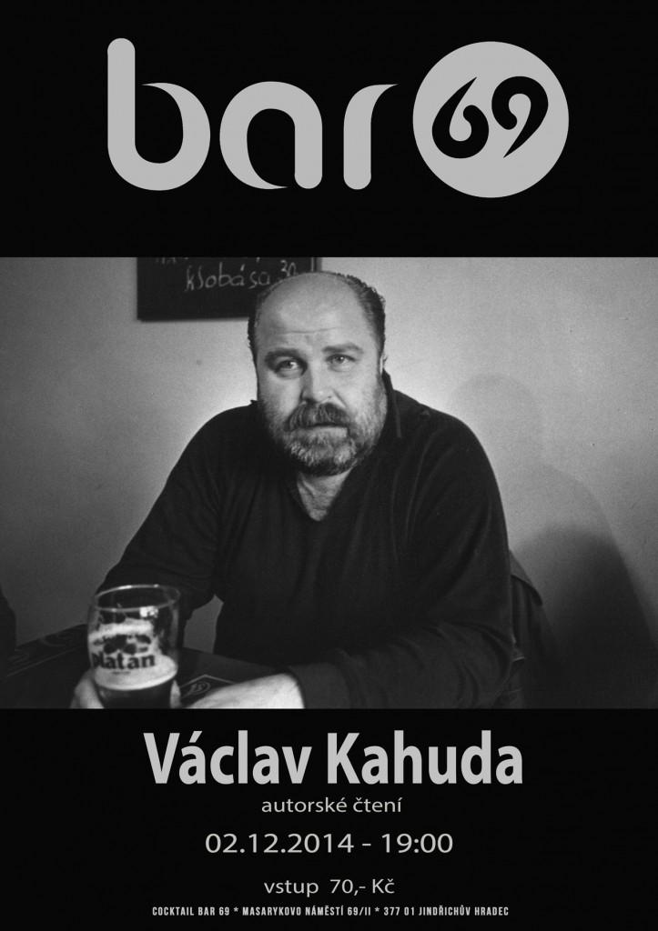Václav Kahuda – autorské čtení